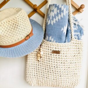 Crochet bags and totes